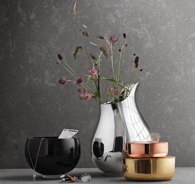 Copper Steel Brass Glass By Ilse Crawford George Jensen