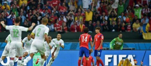 Groupe H : Corée du sud 2 - 4 Algerie - Coupe du monde - Brésil 2014