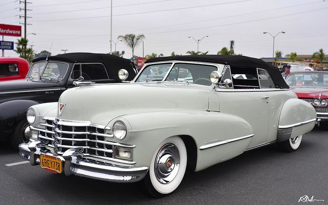 1947 Cadillac Series 62 Convertible – Black over Dove Gray