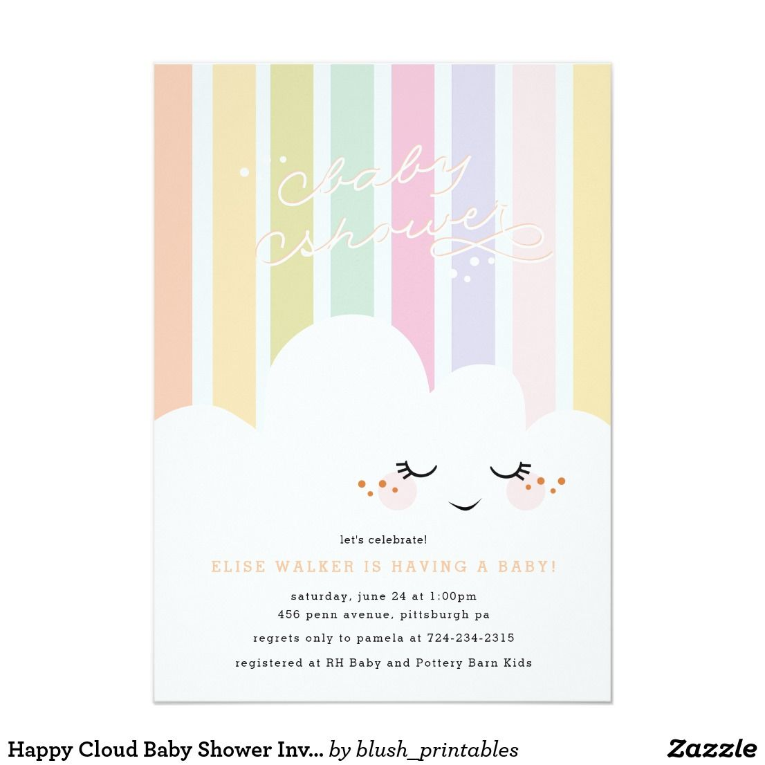 Baby Shower Invitation Zazzle Co