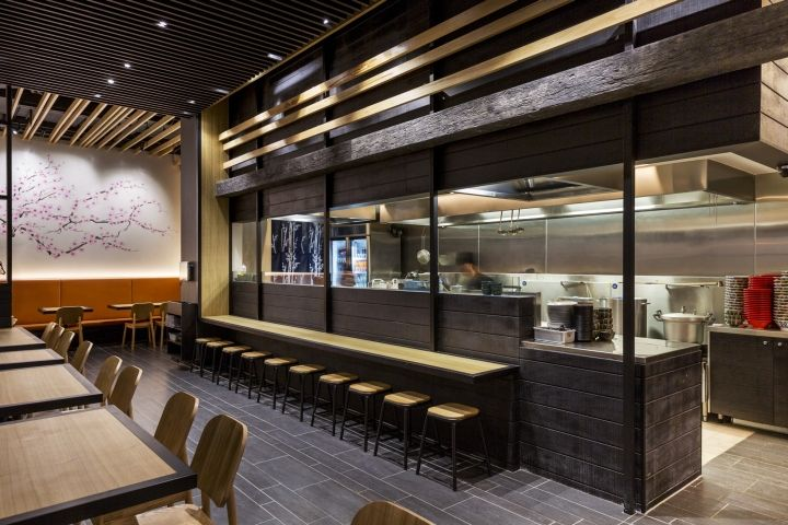 Ra men bankara by studio ginger melbourne australia retail design blog