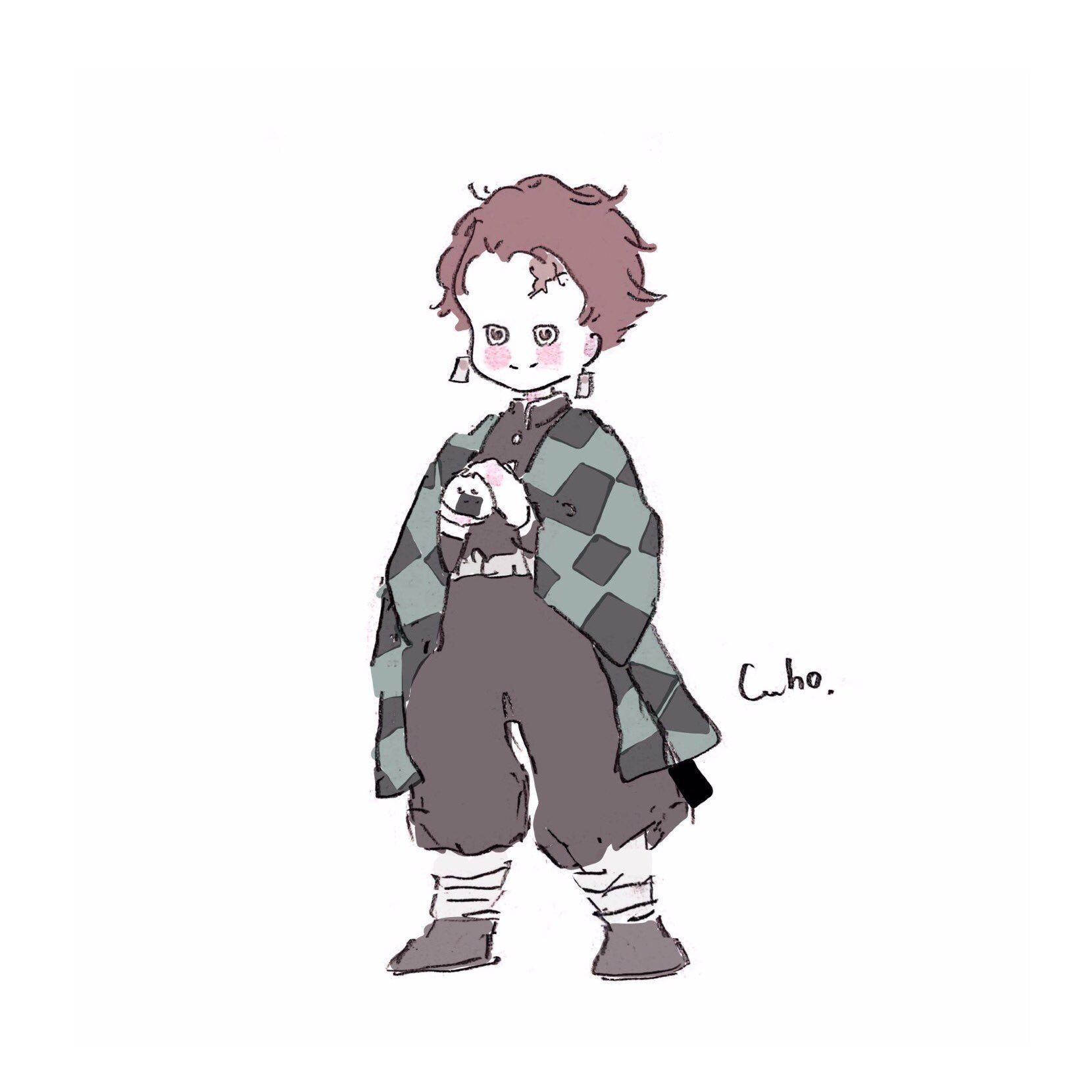 Caho On 2020 かわいい イラスト 手書き 可愛い キャラクター イラスト キュートなアート