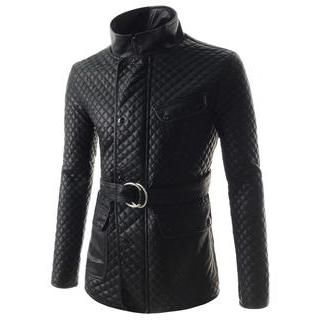 Buy 'TheLees – Quilted Zip-Up Jacket with Belt' with Free International Shipping at YesStyle.com. Browse and shop for thousands of Asian fashion items from South Korea and more!