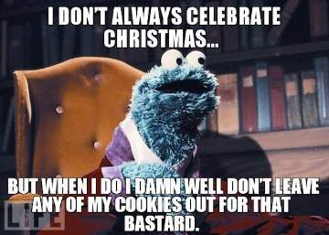 Don't Always Celebrate - Funny Christmas Meme