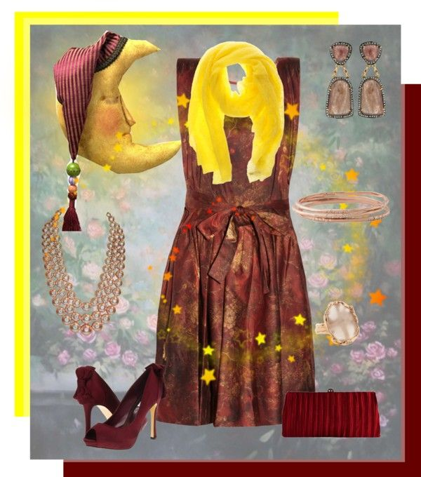 """""""Fly Me to the Moon"""" by lois-boyce-flack ❤ liked on Polyvore"""