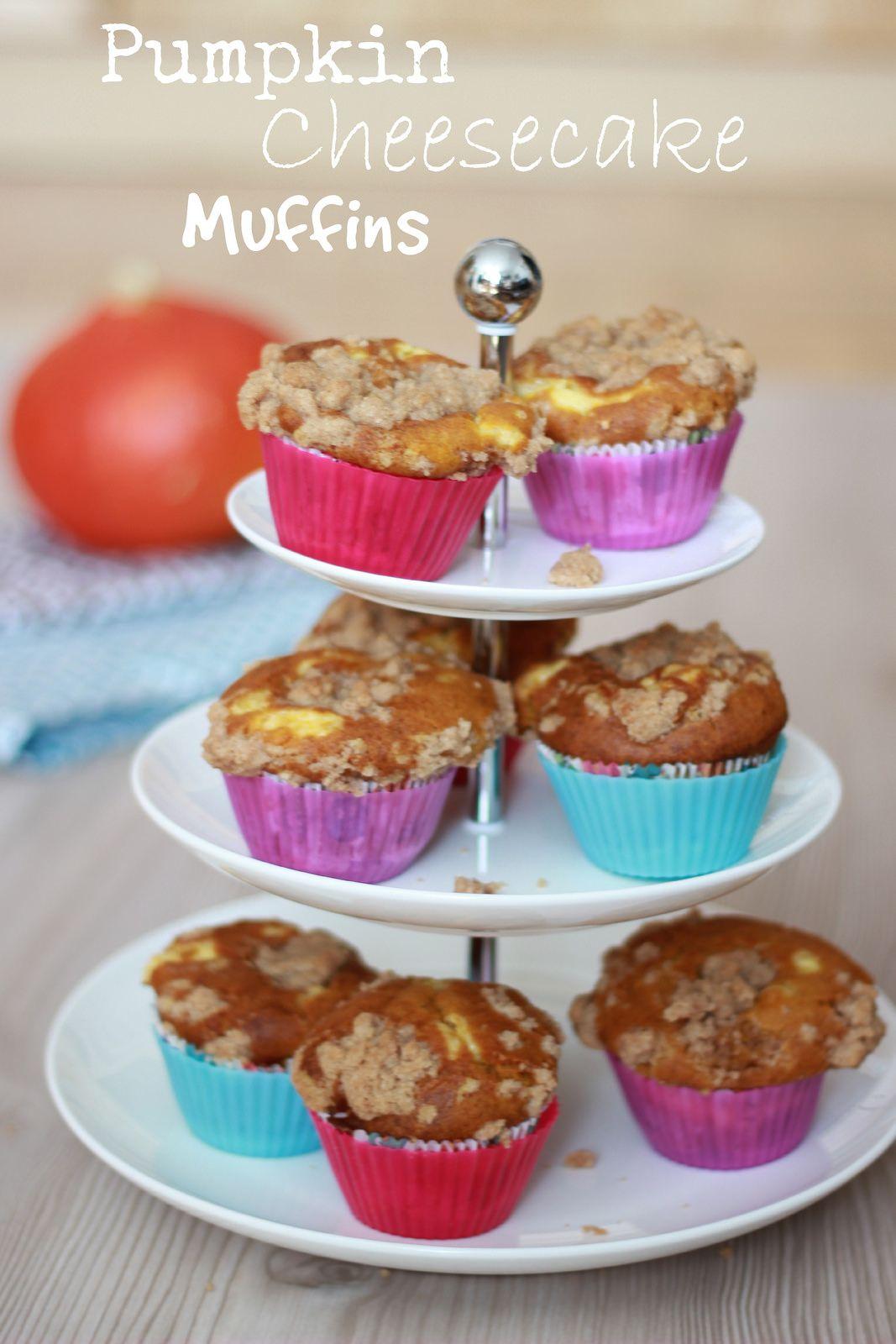 [7Blogger 7Rezepte] Pumpkin Cheesecake Muffins.