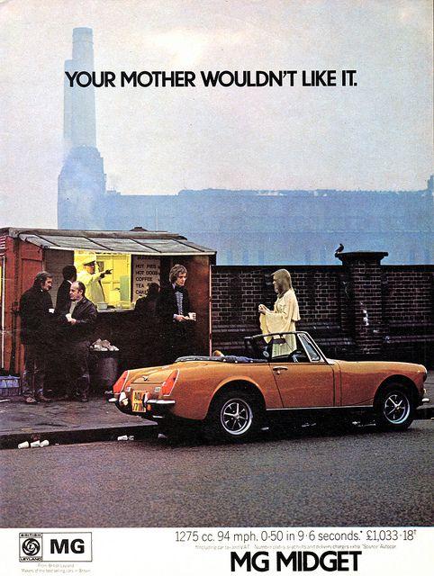 1980 MG Midget ad#1 | Mg midget, Midget, Ads
