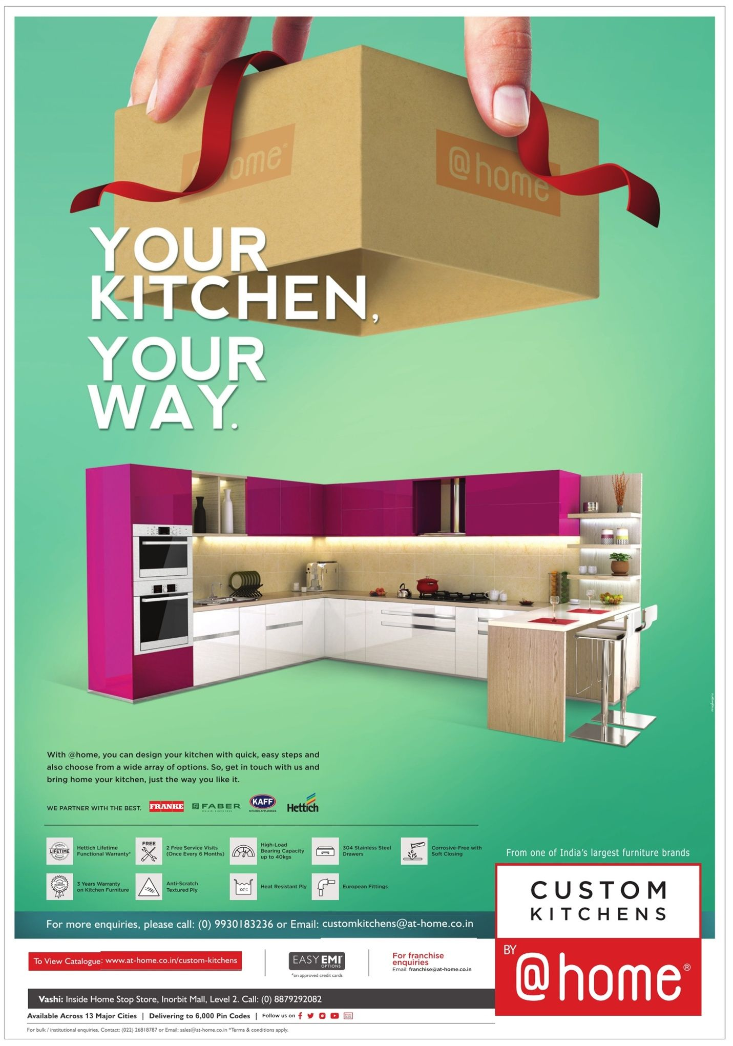 Custom Kitchens Home Your Kitchen Your Way Ad Property Times