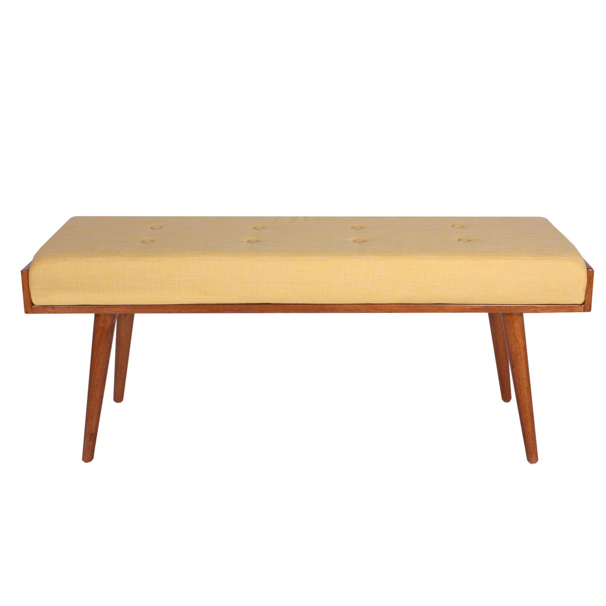 aysel upholstered bedroom bench | panchine, stanze da letto e ... - Panche Per Camera Da Letto