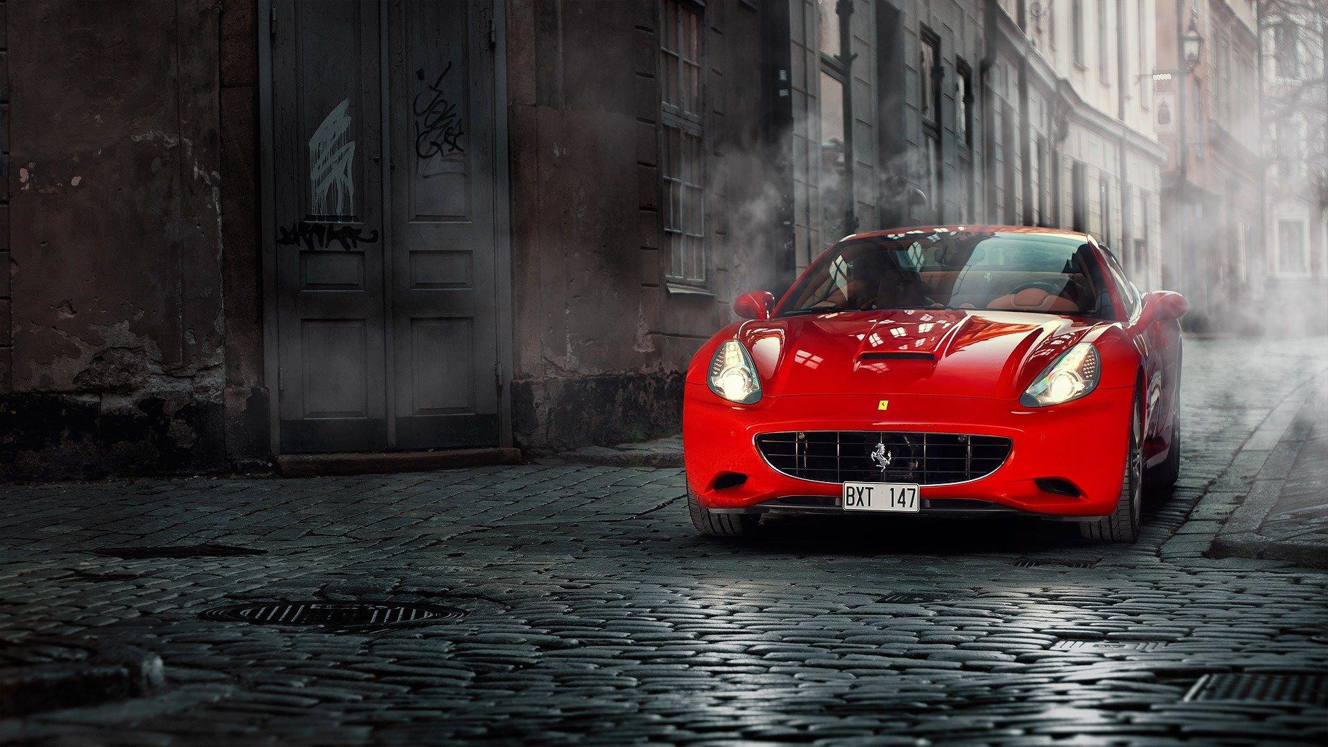 Red Ferrari Wallpaper 36330 1920x1080 Px Hdwallsource Com Ferrari California Ferrari Ferrari Car