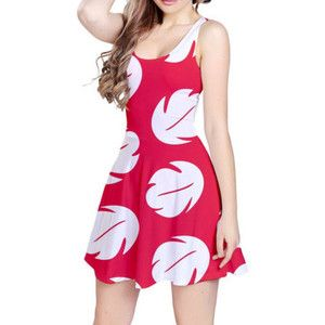 1b6889a300de Adult Lilo and Stitch Inspired Skater Dress | ~disney style ...