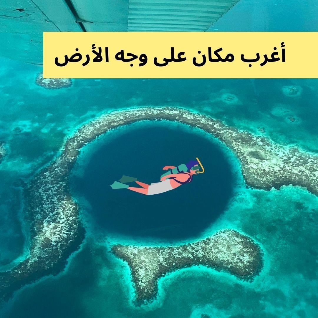 الثقب الأزرق وهو كهف عمودي تحت سطح الماء ويوجد العديد منه حول العالم مثل مصر وجزر البهاماس وجوام وأستراليا تتميز هذه الكهوف بلونها ا Poster Movie Posters Art