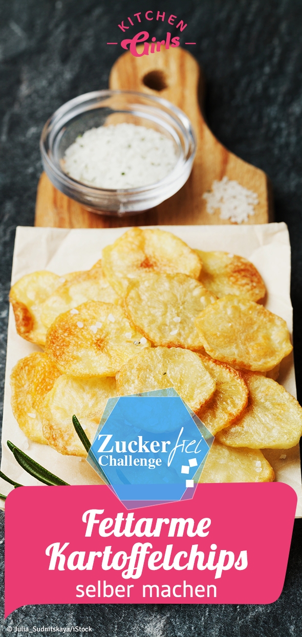 Photo of Sugar-free recipe: make low-fat potato chips yourself