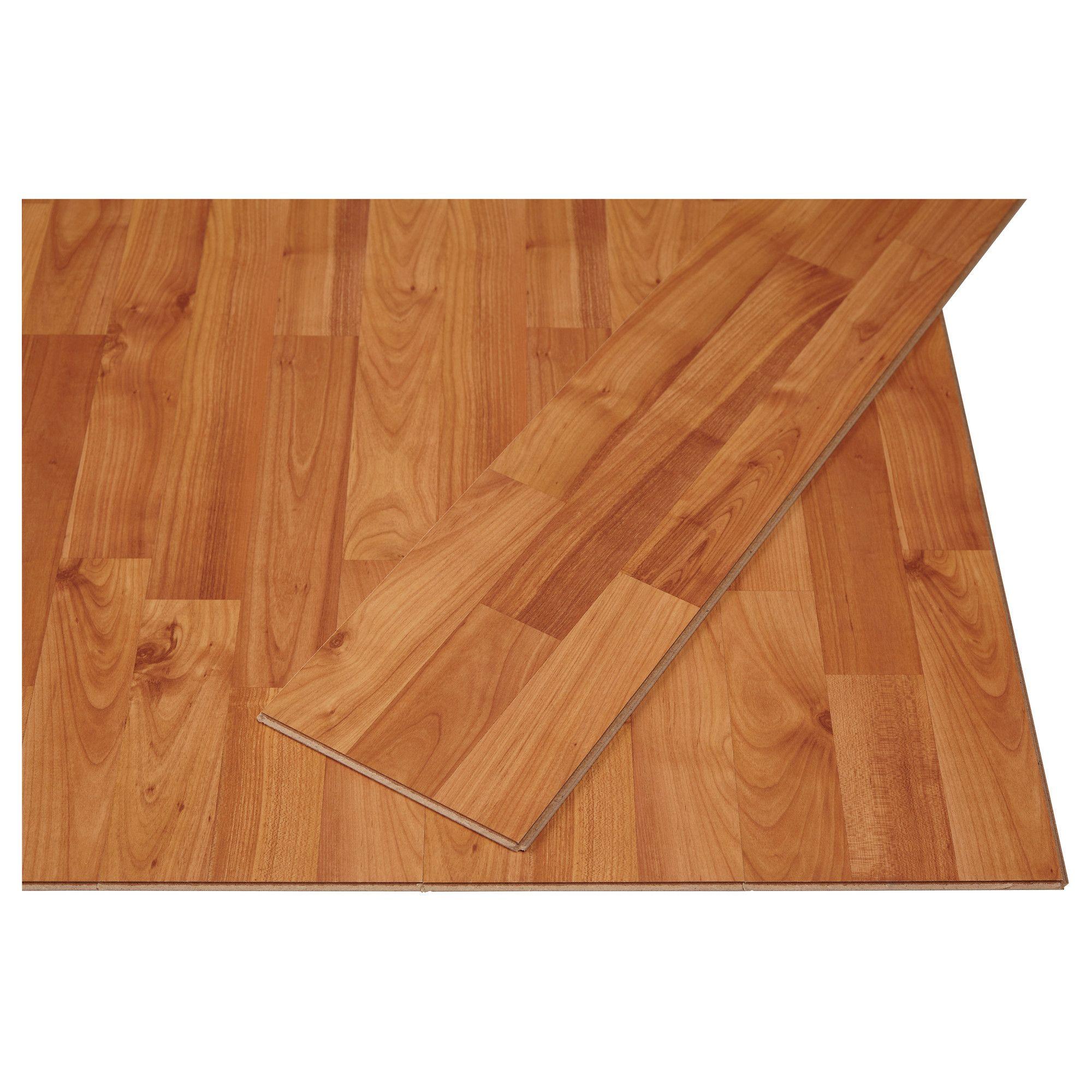 Tundra laminated flooring alder effect ikea for the for Ikea tundra
