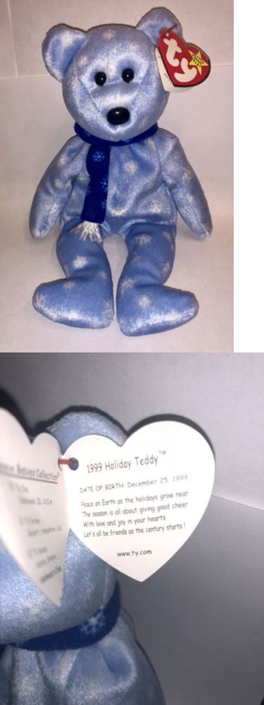 e515f42e41b Retired 440  1999 Holiday Teddy
