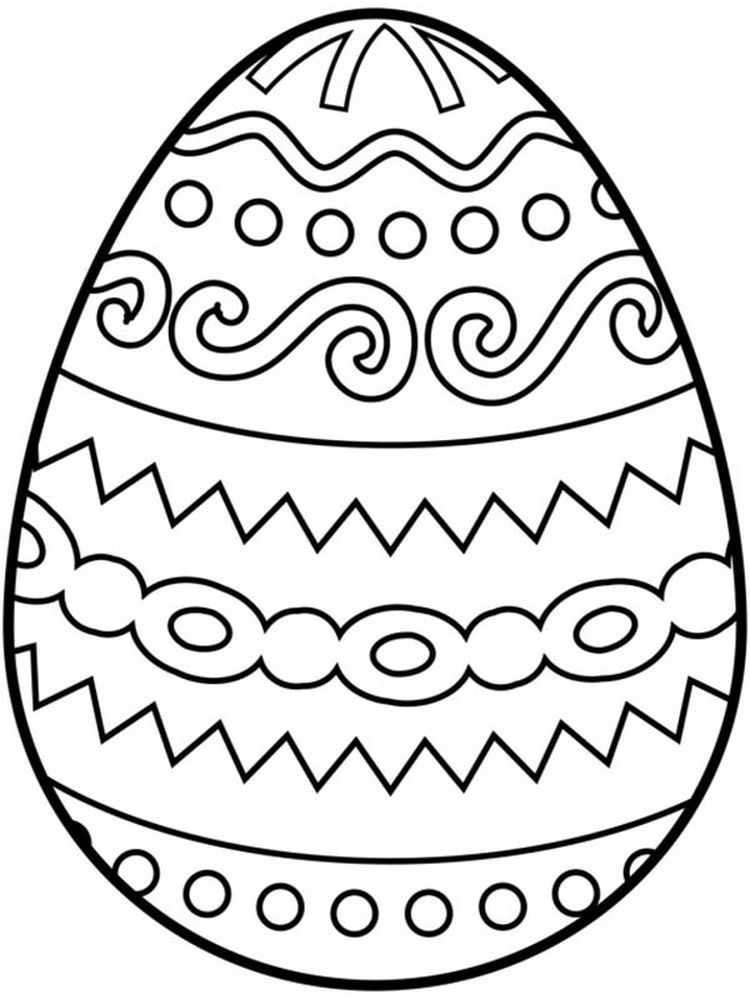 41+ Printable easter coloring pages pdf information