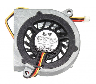 Lv Afw0545 S313a1 5v 0 23a 3 Wires 3 Pins Notebook Fan Laptop Cooler Laptop Cooler Laptop Cooler