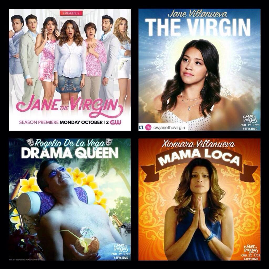 Jane The Virgin Season 2 Monday October 12 Jane The Virgin Jane And Rafael The Fault In Our Stars