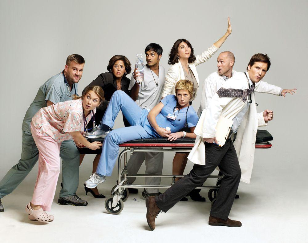cast of nurse jackie season 4