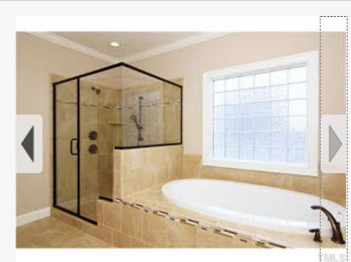 glass door and tile for bathroom