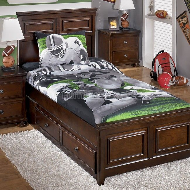 Tackle Football Bedding Set Football Bedding Bed