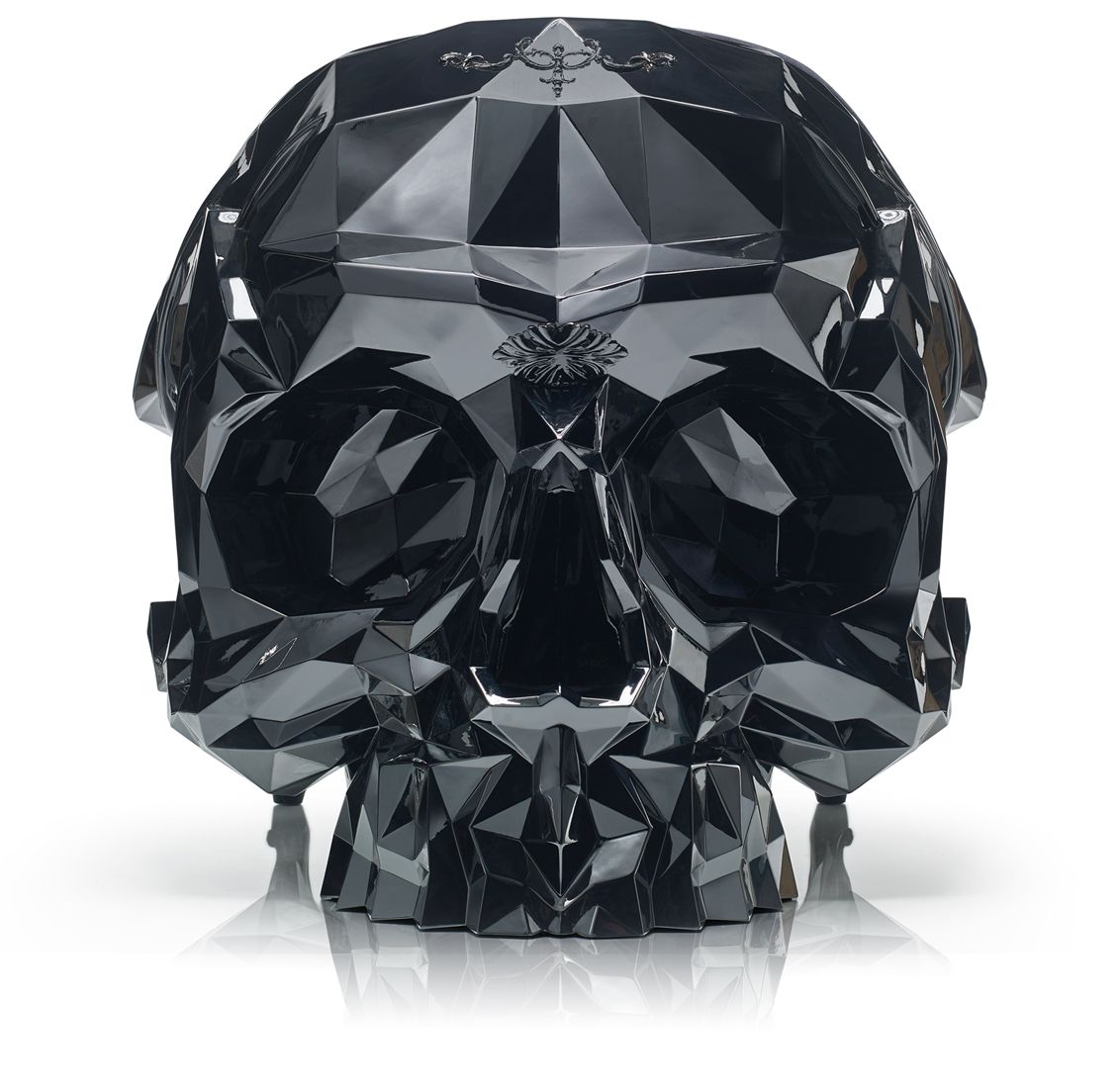 BLACK Skull Armchair