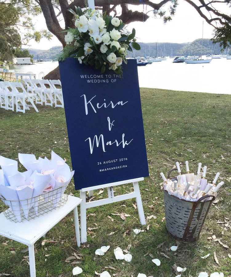 Design Duo Based In Sydney Creating Bespoke Handpainted Signs Wedding Event Styling And Prop