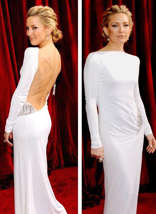 Kate Hudson robe dos nu