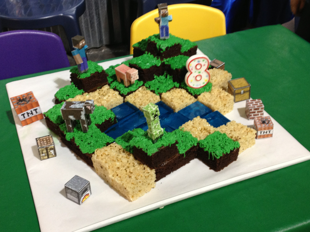 Minecraft Birthday Party Ideas Minecraft Cake