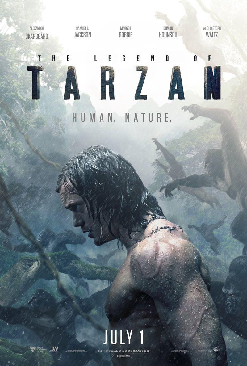 Legend Of Tarzan Trailer Alexander Skarsgard Is King Of The Jungle Tarzan Pelicula Tarzán Peliculas Cine
