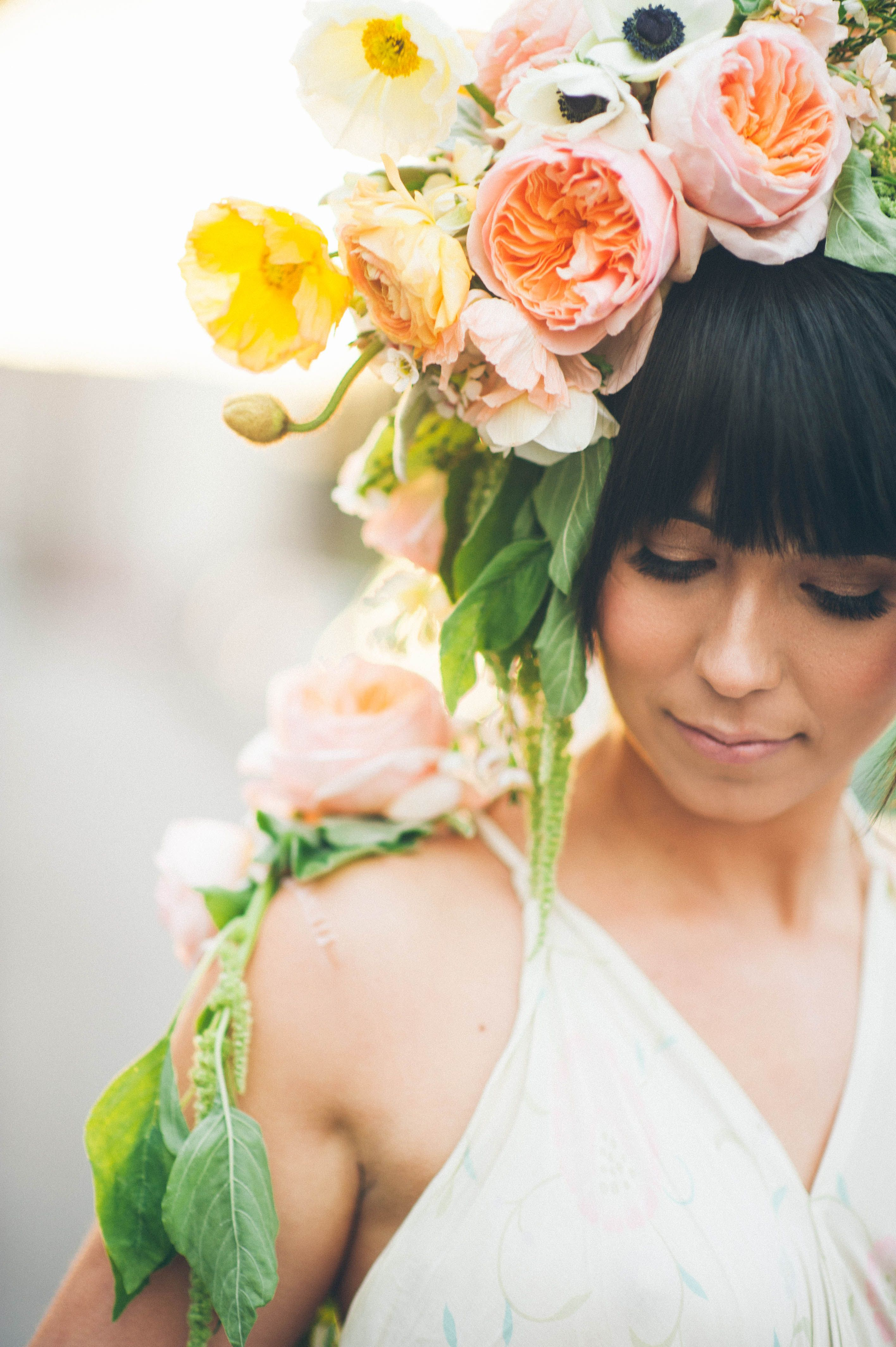 The New Flower Crown Emily Blake Photography Bridal Style