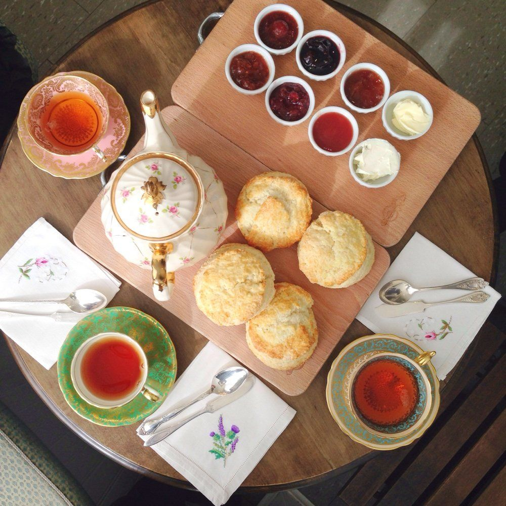 Kitten And The Bear Toronto On Canada Best Jams Scones And Oh Can T Forget About The Clotted Cream High Tea Fun Cooking Food