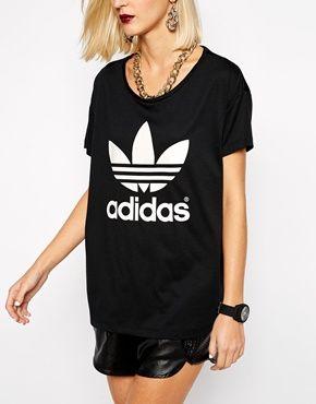 adidas shirt oversize damen