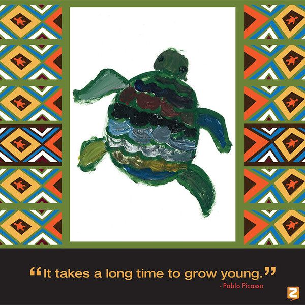 """It takes a long time to grow young"""