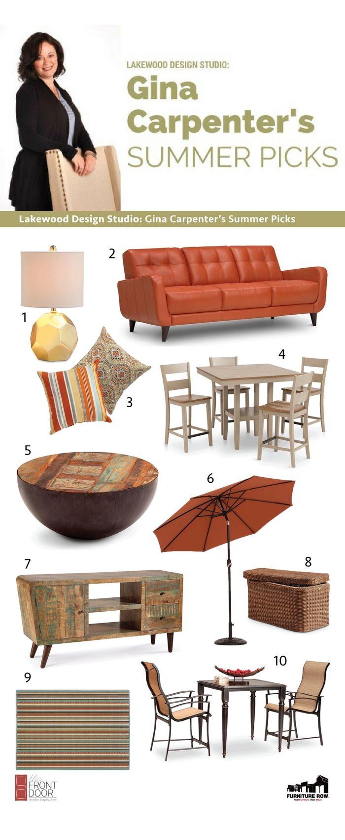 Lakewood Design Studio Gina Carpenter's Summer Picks