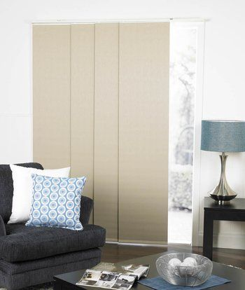 Panel blinds easy replacement for vertical blinds Beach