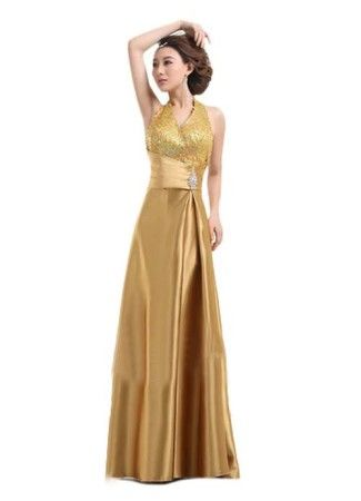 Exciting Gold Prom Dresses Under 100 Dollars