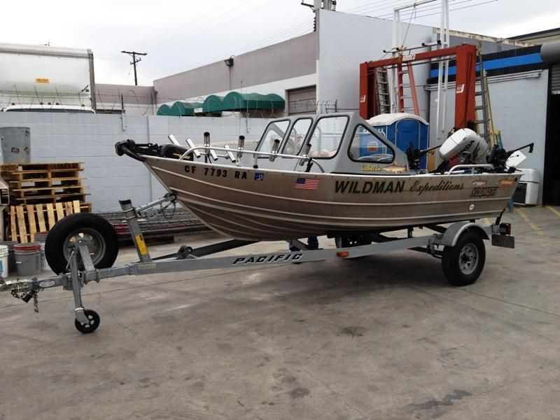 2004 Klamath 15 Adw Aluminum Fishing Boat Powerboat For Sale In California Aluminum Fishing Boats Canoe Boat Boat