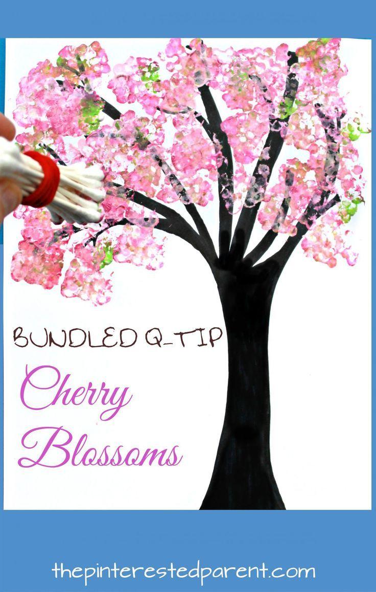 Photo of Bundled Q-tip Trees for Every Season – #Bundled #cherryblossom #Qtip #Season #tr…