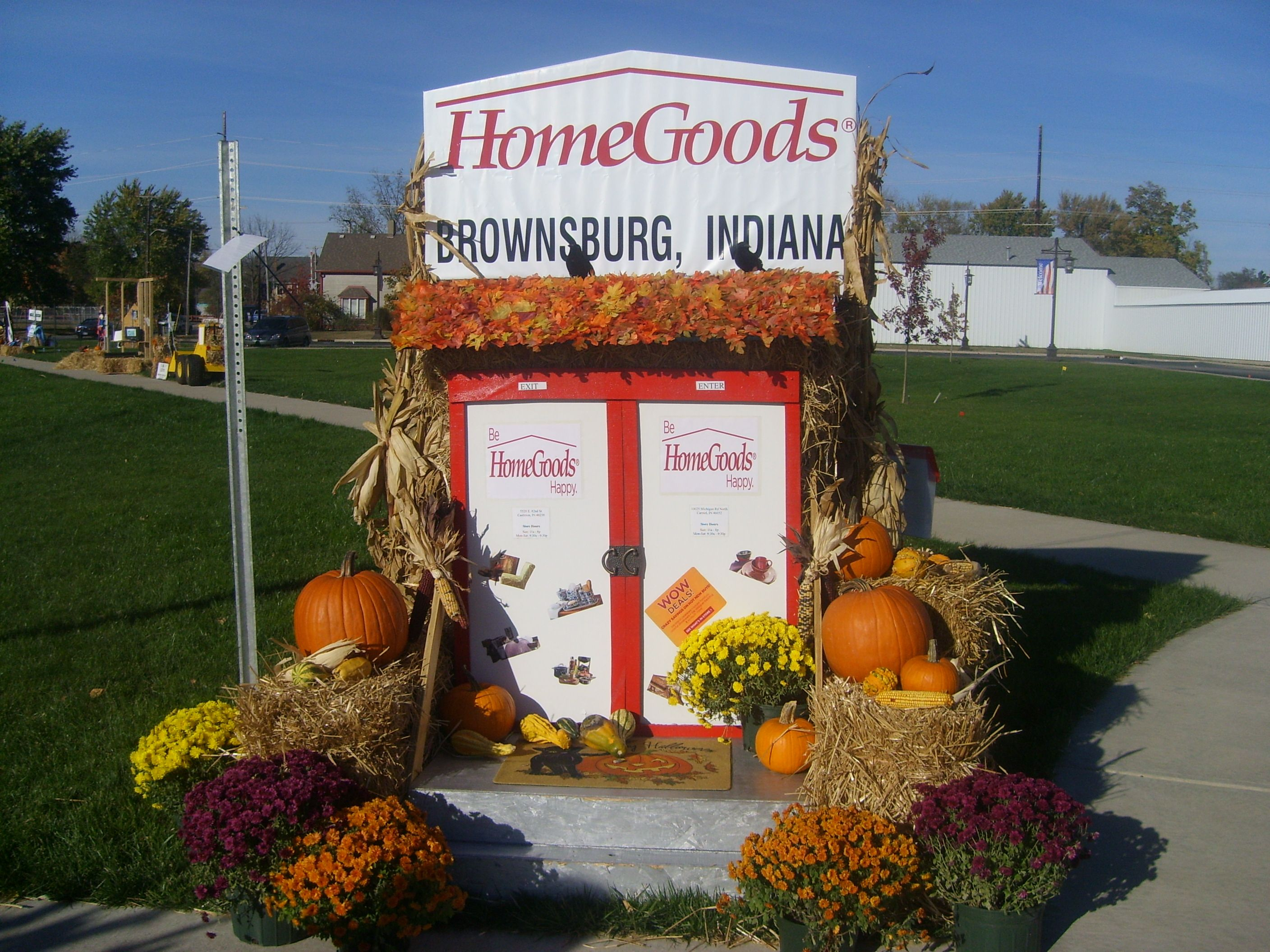 homegoods halloween display brownsburg indiana - Halloween Indiana