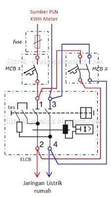 Modifikasi Wiring Elcb 1 Phasa Listrik Teknik Listrik Teknik