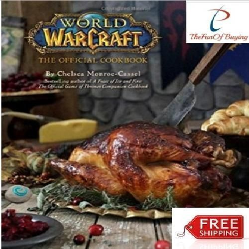 World of Warcraft: The Official Cookbook ORIGINAL Warcraftthe free shipping #Doesnotapply