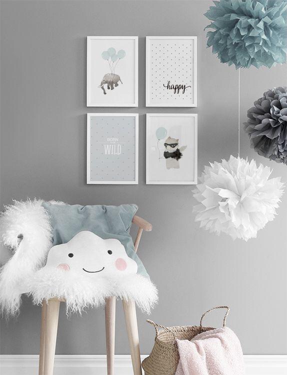 babyværelse inspiration Inspiration til billedvægge og plakatcollage | Babyværelse i 2018  babyværelse inspiration