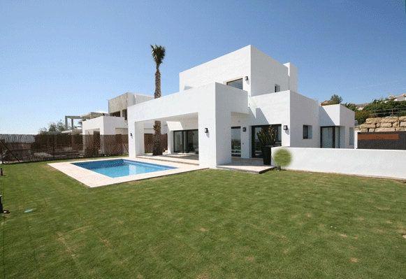 Design villa for sale in Estepona These individually designed villas ...