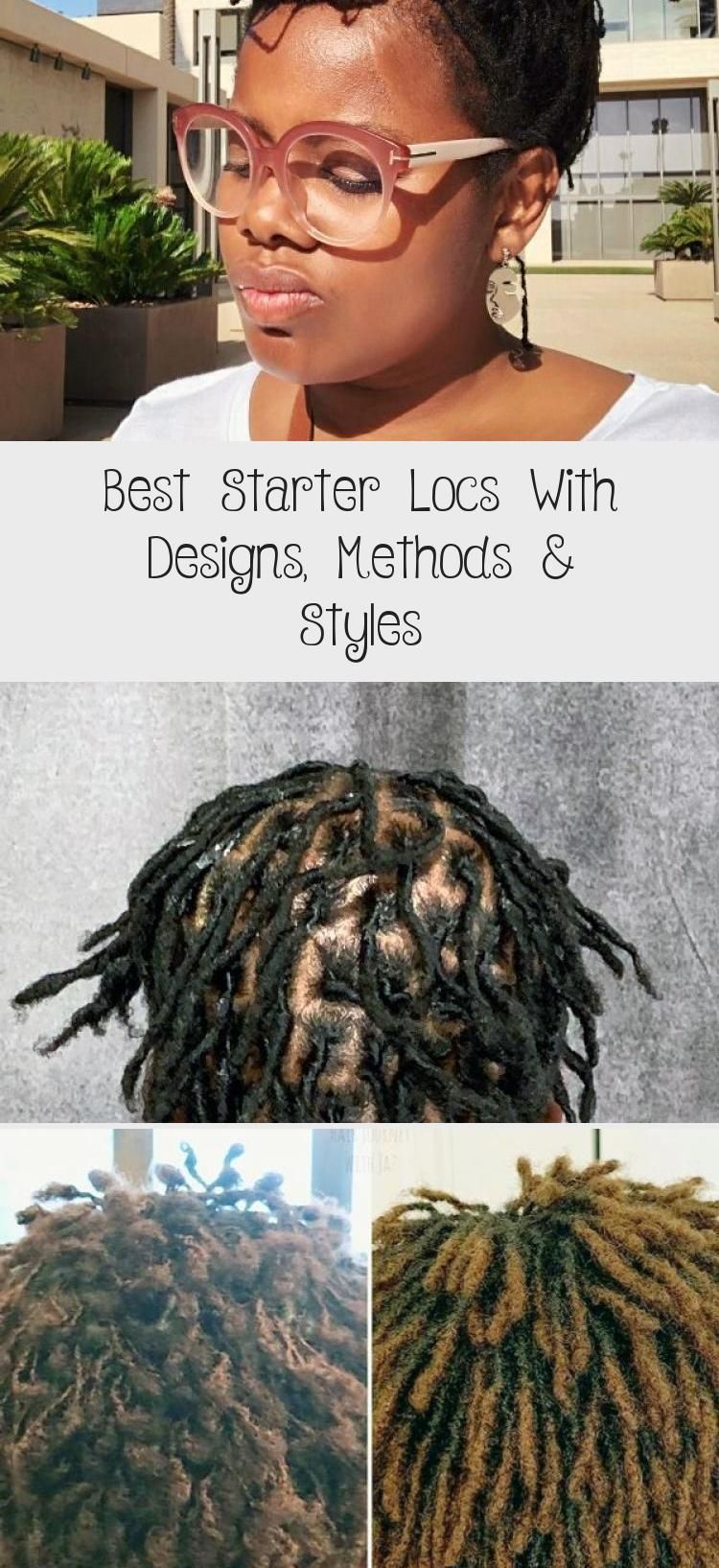 Best Starter Locs With Designs, Methods & Styles - Hair Styles