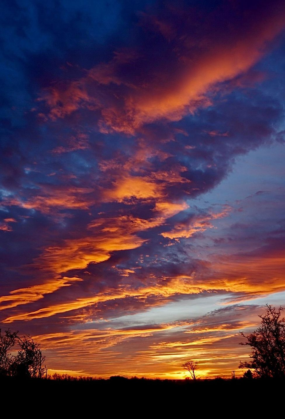 In Pictures Clouds Create Perfect Conditions For Stunning Sunset Beautiful Scenery Pictures Sunset Pictures Clouds