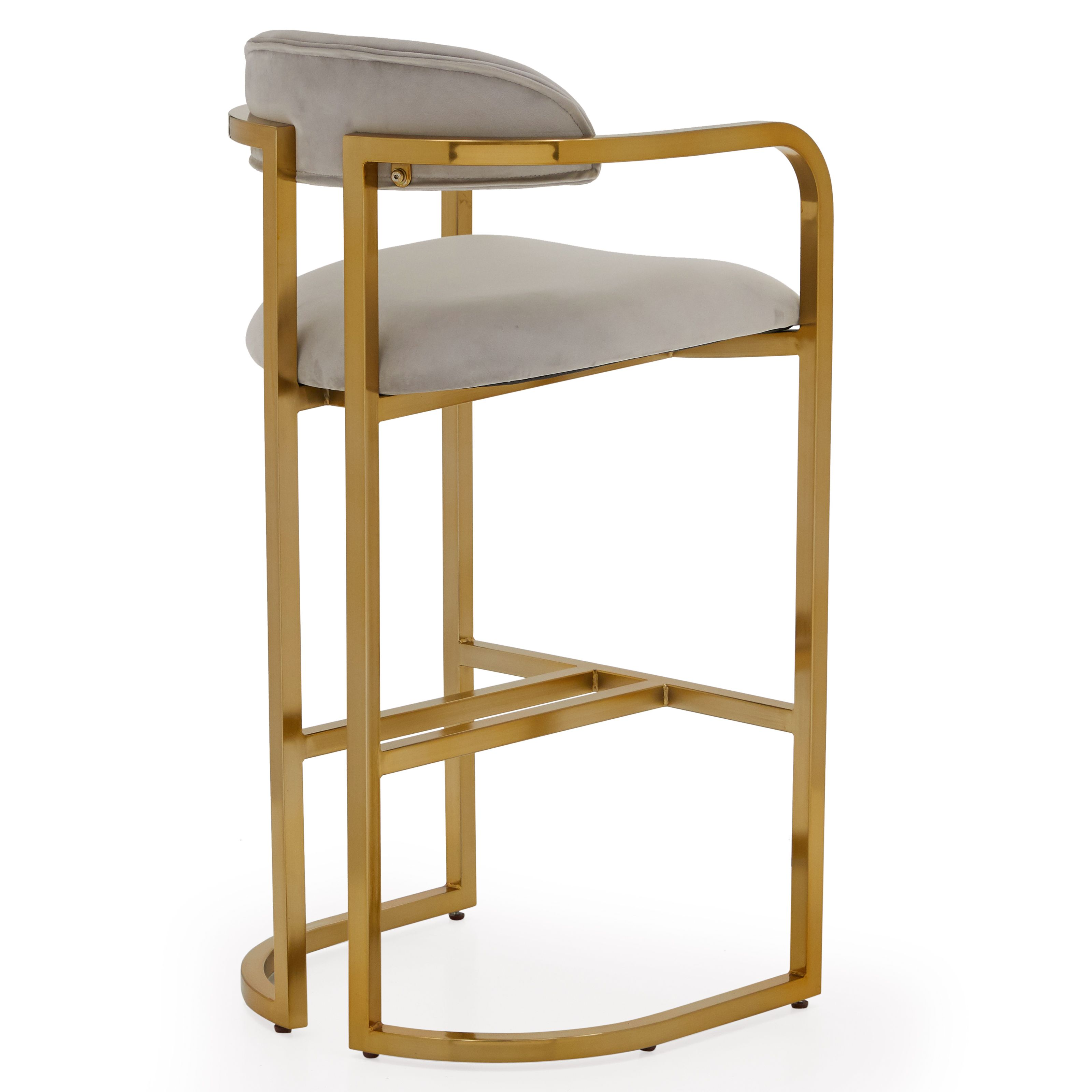 Enjoyable Modrn Glam Marni Metal Base Bar Stool Multiple Colors Squirreltailoven Fun Painted Chair Ideas Images Squirreltailovenorg