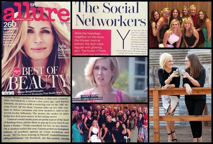 Rodan+Fields, and my business partner, mentor and friend