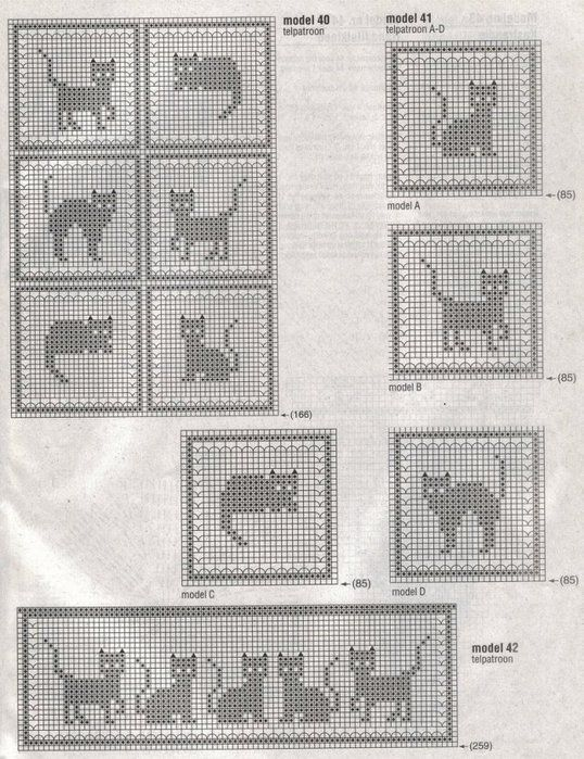Filet Crochet – How to and Patterns