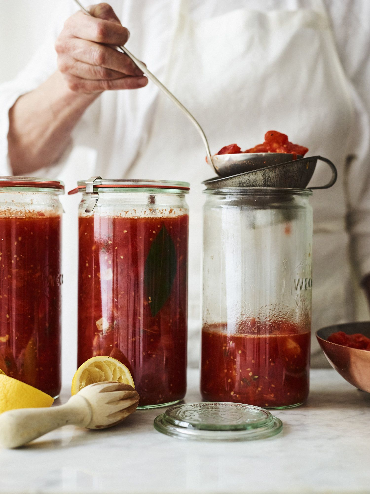 Canned Tomato Sauce The Cook S Atelier Summertime Recipes Canned Tomato Sauce How To Can Tomatoes